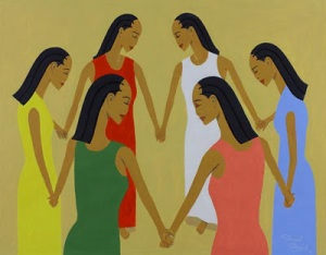 Art Work: Women of Soul by Glenn Daniels We are a Sisterhood as we go though this journey together.