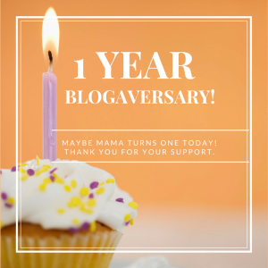 Maybe Mama Blogaversary v2