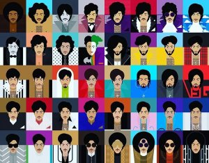 Prince through the years
