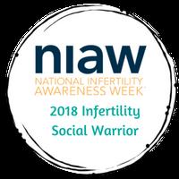 Infertility Warrior Badge 2018 final